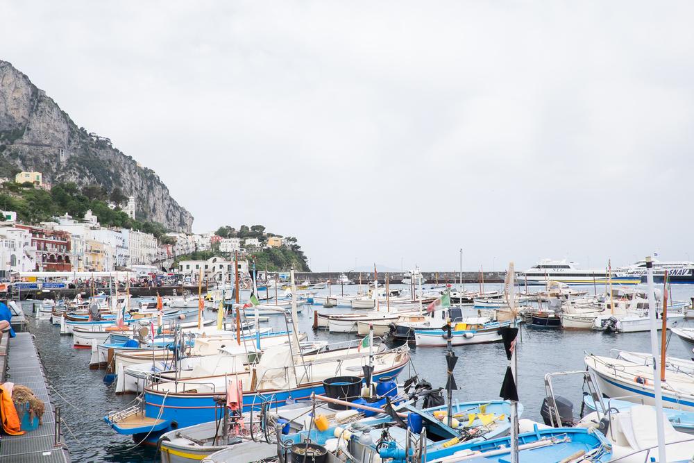 Capri's Marina Grande