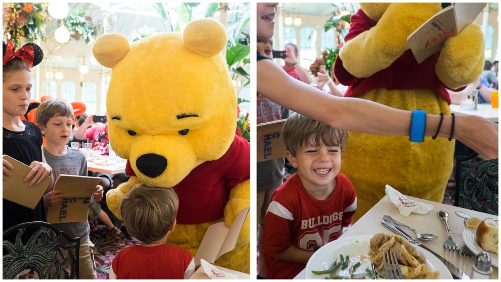 """Pooh kissed me!"""