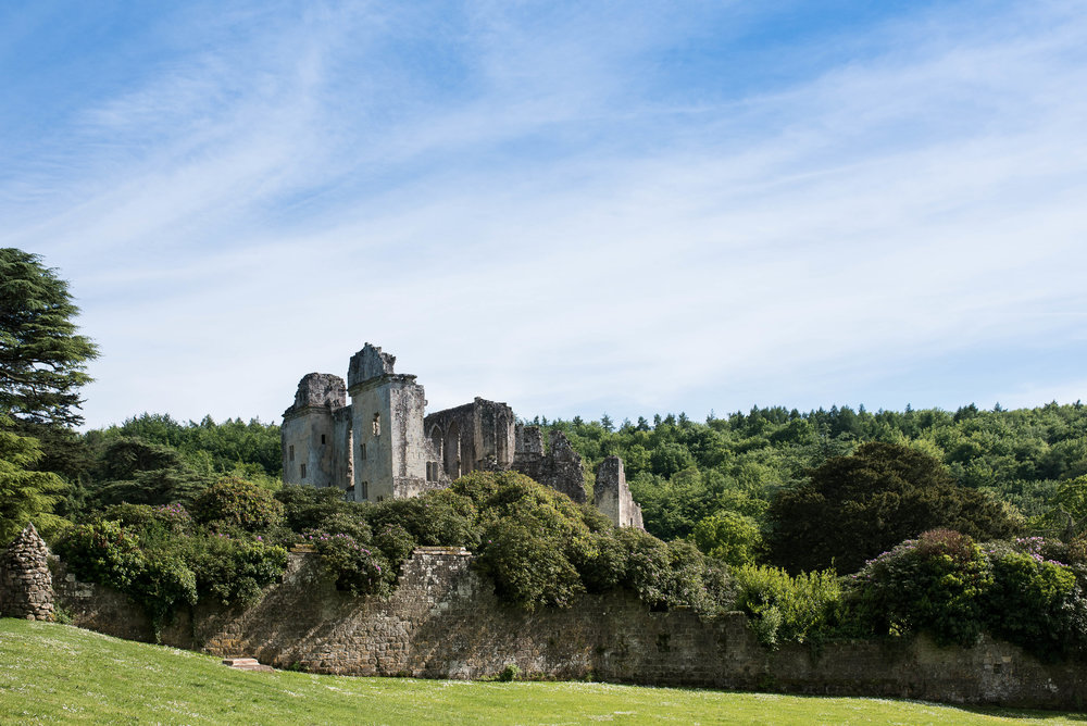 No. 4:  Old Wardour Castle