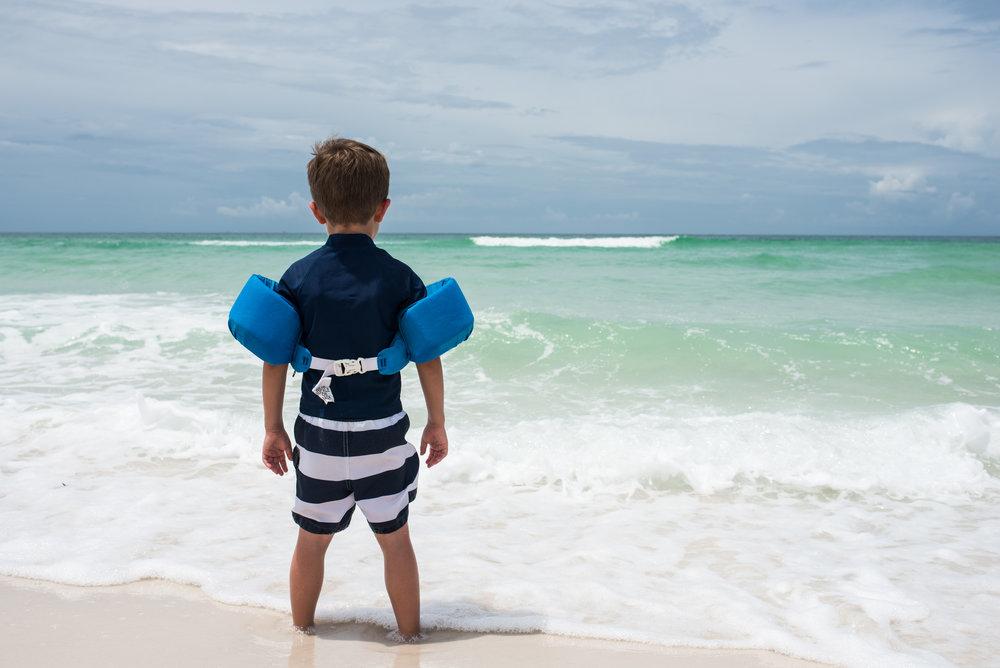 Boy vs. Ocean