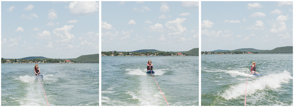 We made a gametime decision to bench the tube and pull out the kneeboard for this summer's watersport adventure. Solid decision!
