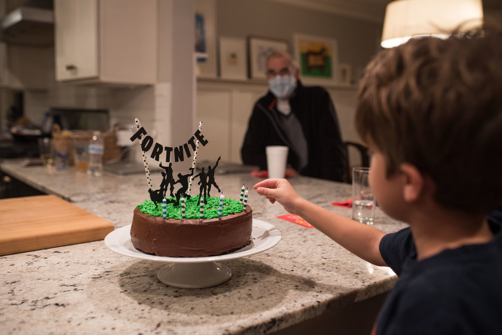 Back home, we gathered with family to celebrate Henry's 007 birthday.