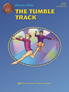The Tumble Track    Cheery and just plain fun, this elementary solo alternates between  middle C position and C 5-finger position. Full of catchy slurs and staccatos well-supported by the optional accompaniment.