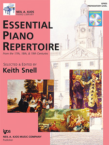 Essential Piano Repertoire, Book and CD    Preparatory Level