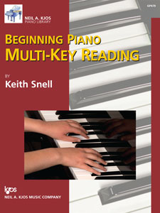 Beginning Piano Multi-Key Reading