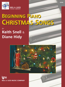 Beginning Christmas Songs   We made this book for the older piano student who could play simple Christmas music, with beautiful accompaniments, but wanted it in a more sophisticated format. My adults love to use this book, especially when I join them on the duet parts.
