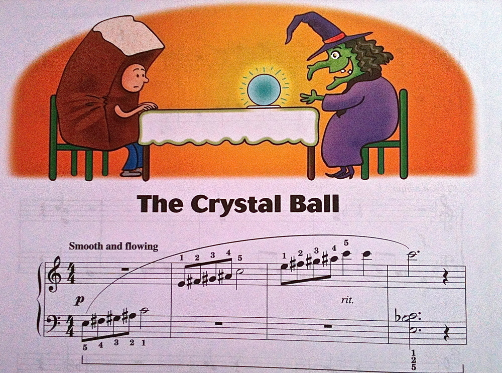 The Crystal Ball from  Halloween Level Two