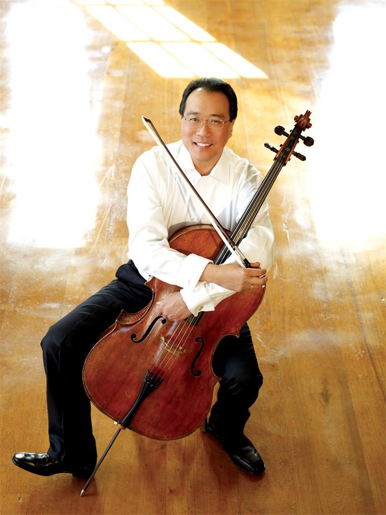 Cellist Yo-Yo Ma