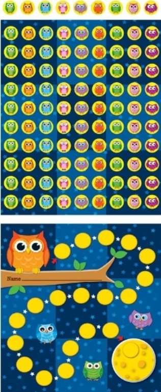 Mini Owl Incentive Chart  -my personal favorite.