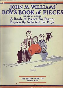 John M. Williams' Boy's Book of Pieces Published 1932