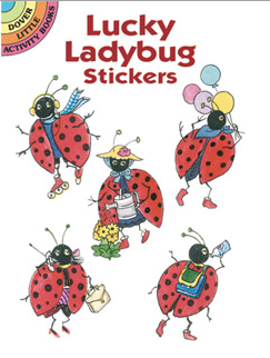 Ladybug Stickers used with the ladybug squeeze toy can be a wonderful reminder to use good hand position.
