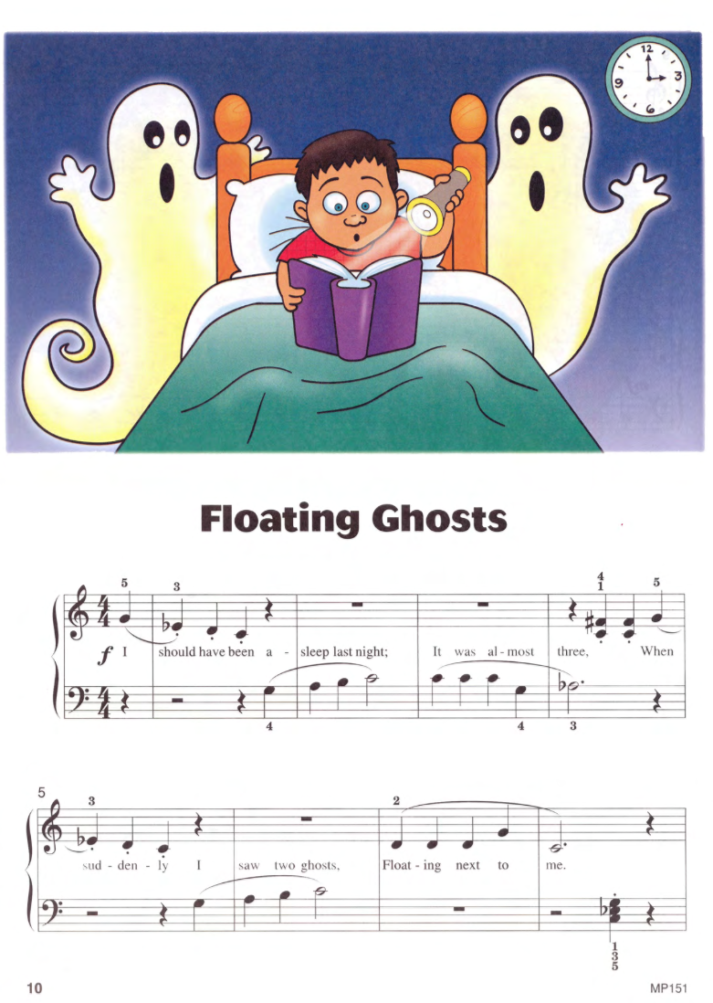 Floating Ghosts  from  Level One Halloween.