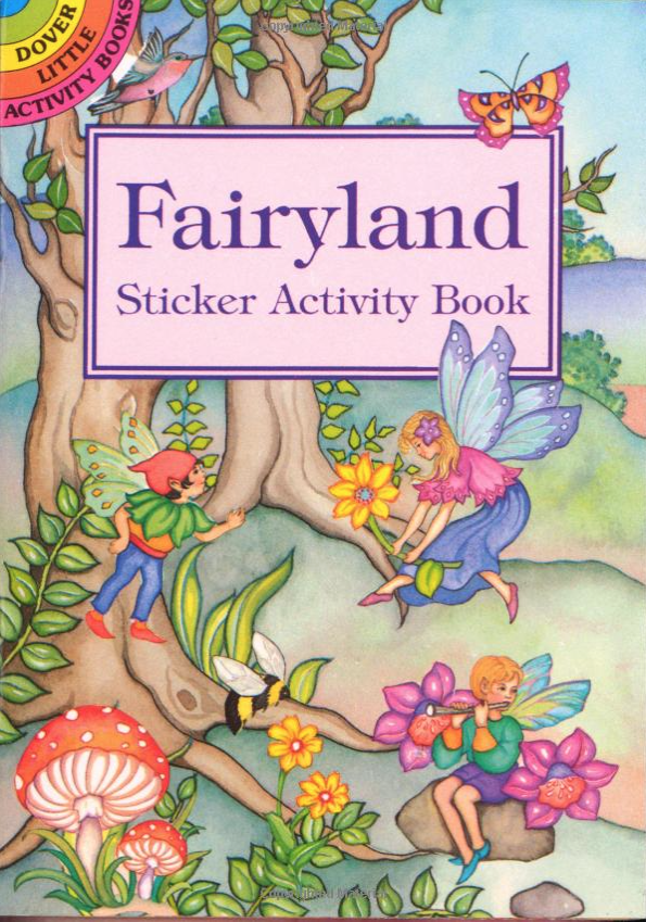 Fairyland  has beautiful and enchanting stickers.