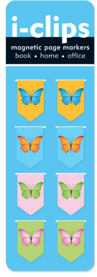 I want these  Butterfly Magnetic Paper Clips  for myself.