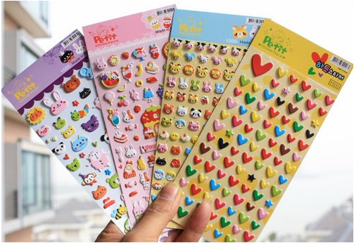 Tiny and packed full of interest, silly and fanciful puffy stickers are sure to energize a lagging lesson. They're especially suitable for placing in a student's music to help them remember something.