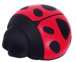 Ladybug Squeeze Toys are the finest tool I've ever found to teach hand position. Now available in 6-packs and 12-packs to keep the cost down, I give one to each new student to help them experience and remember what a good hand position feels like.