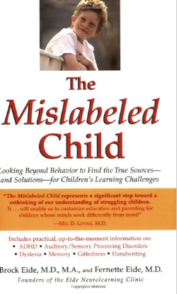 Take time to educate yourself. Here are just a few books that have changed my life - and my teaching.  The Mislabeled Child  will help you understand all of students better - whether they have a diagnosis or not.  Highly recommended.