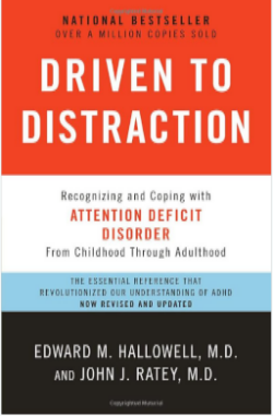 I had the good fortune to hear Edward Hallowell speak last year and wrote about it. For those of you who have any interest in learning differences and especially Attention Deficit Disorder, please read Driven to Distraction.