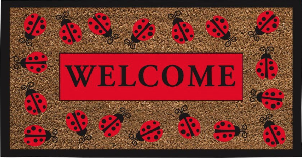 If someone wants to put a smile on my face, please feel free to get this  Ladybug Welcome Mat  for me. I can't think of a more appropriate way to welcome students to my studio.