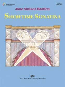 Showtime Sonatina - by Jane Bastien is a piece with jazzy rhythms and a big, important sound. It's such a favorite of my students that I have to be careful not to give it to more than one at a time. Otherwise there's a fight over who gets to play it on the recital! Elementary/Late Elementary
