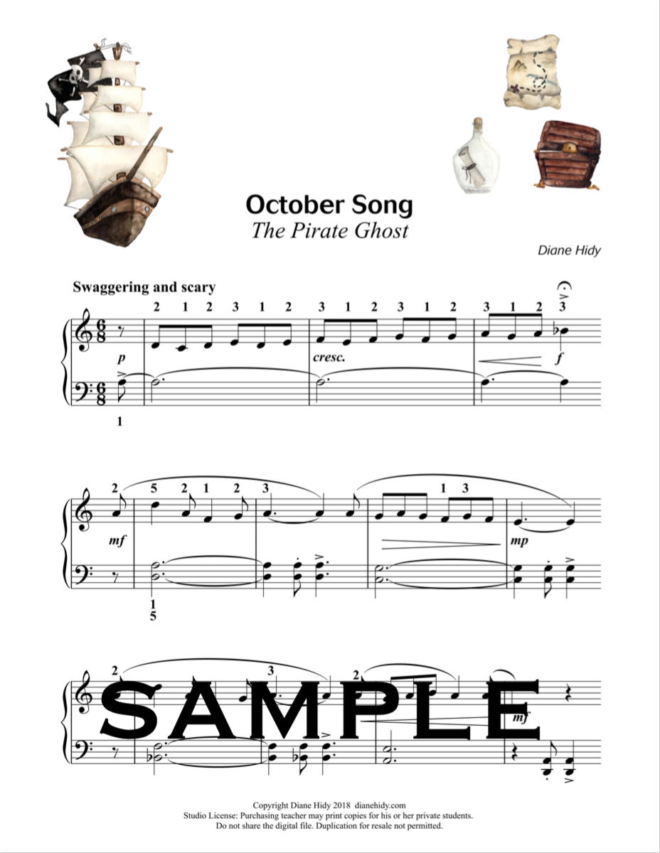 October Song: The Pirate Ghost