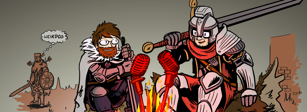 Bonfireside Chat   A podcast about the Souls series of games.  An undead favorite.   Listen