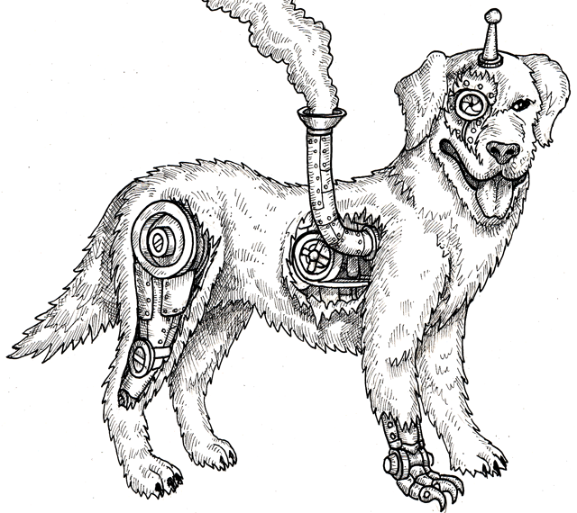 A clockbork companion