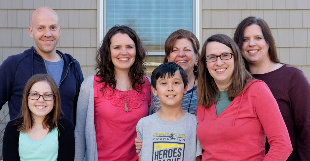 Meet the team: (L to R): Jeremy, Faith, Shannon, Jakin, Deb, Rachel and Stacy