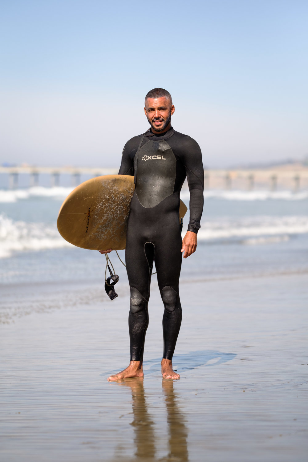 San Diego native and lifelong surfer