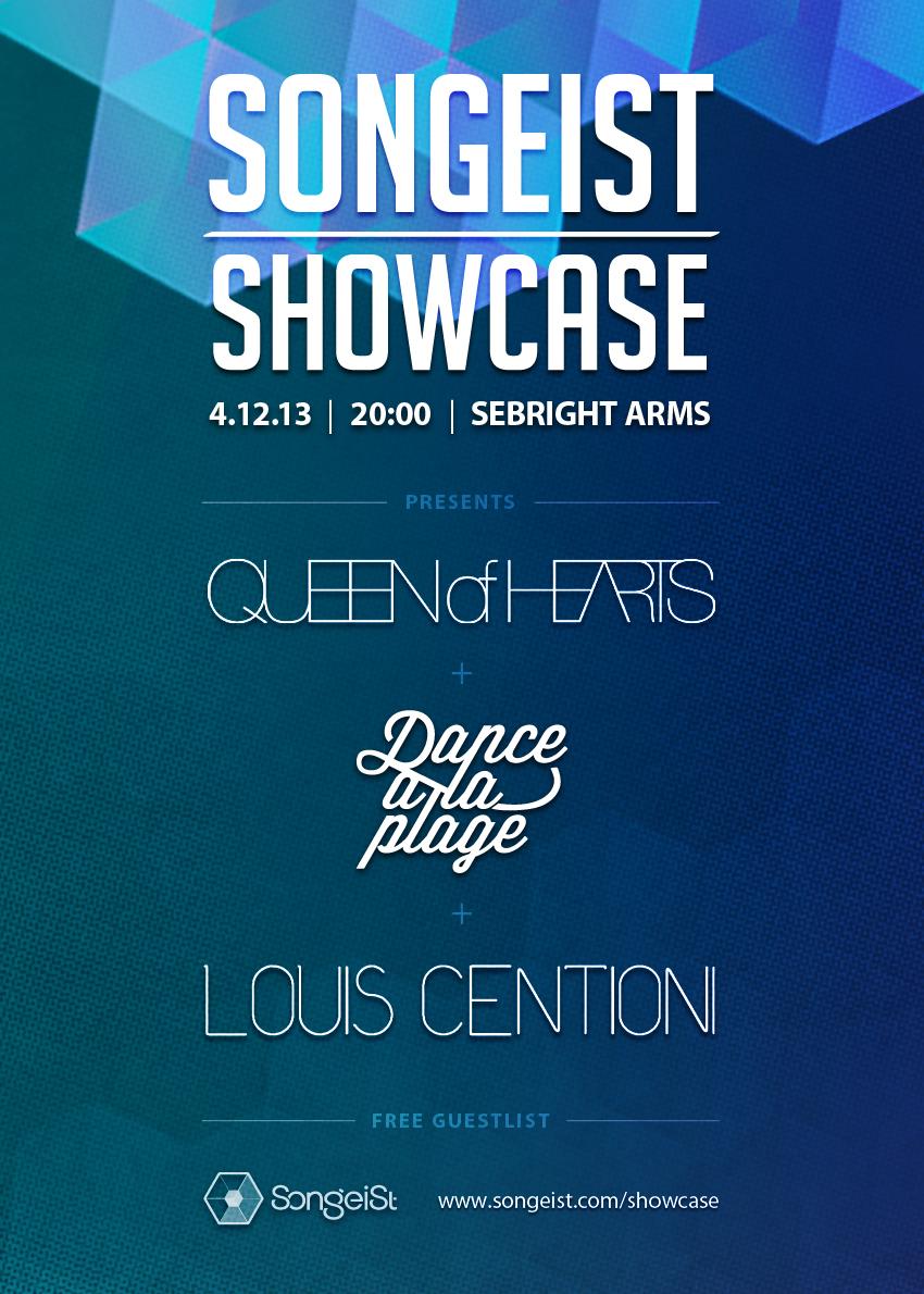 Songeist Showcase, December 2013.