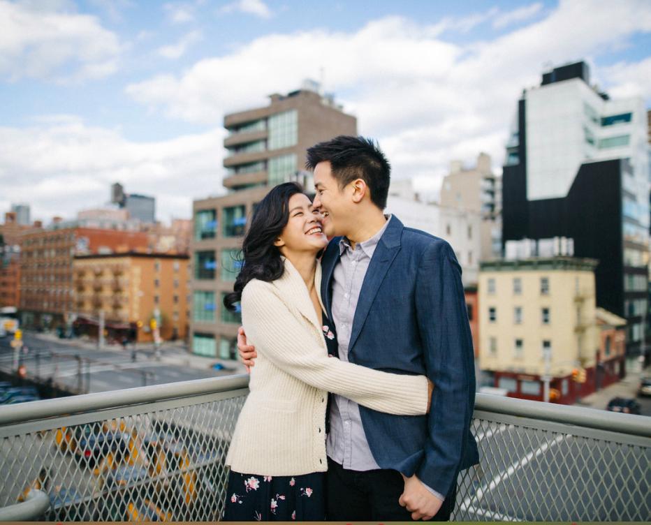 Jen & Evan - HIGHLINE NYC