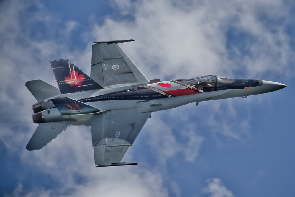Canadian CF-18 at Jones Beach Air Show 2013