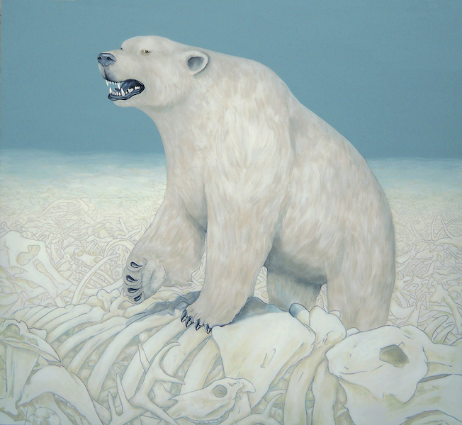 Polar Bear in a Shitstorm