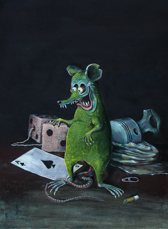 Still Life with Finkish Rat