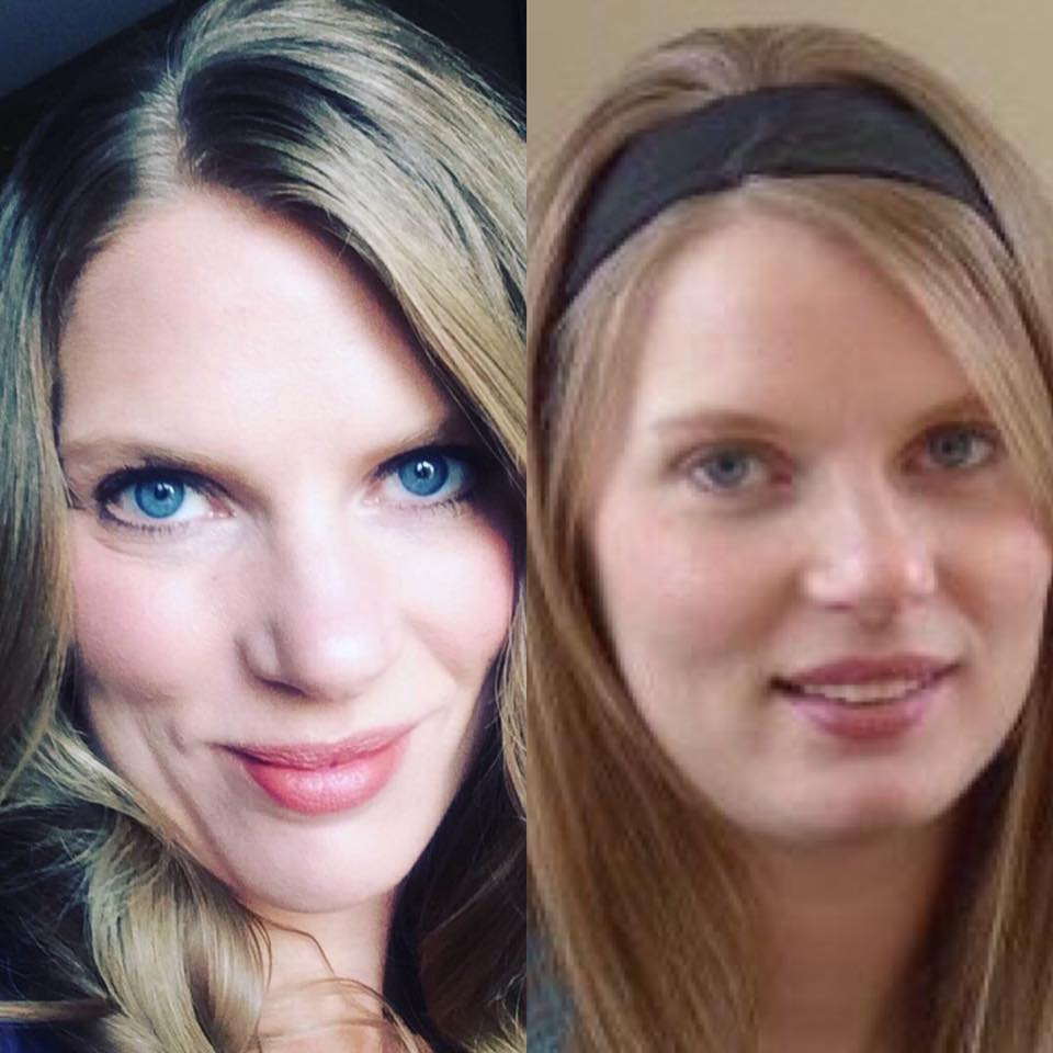 First pic is the NEW me…Second pic was the OLD me. Notice how you can even see it in the eyes. It's like a glimpse of life was restored. I can help you  Discover  it for yourself. Can you believe, I am 5 years OLDER in the first pic?!?