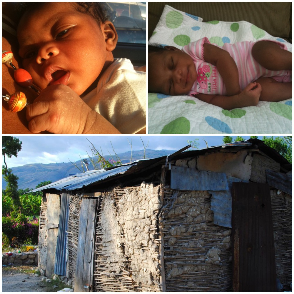 This is our first pics of Karis and the home where she was born in Haiti!