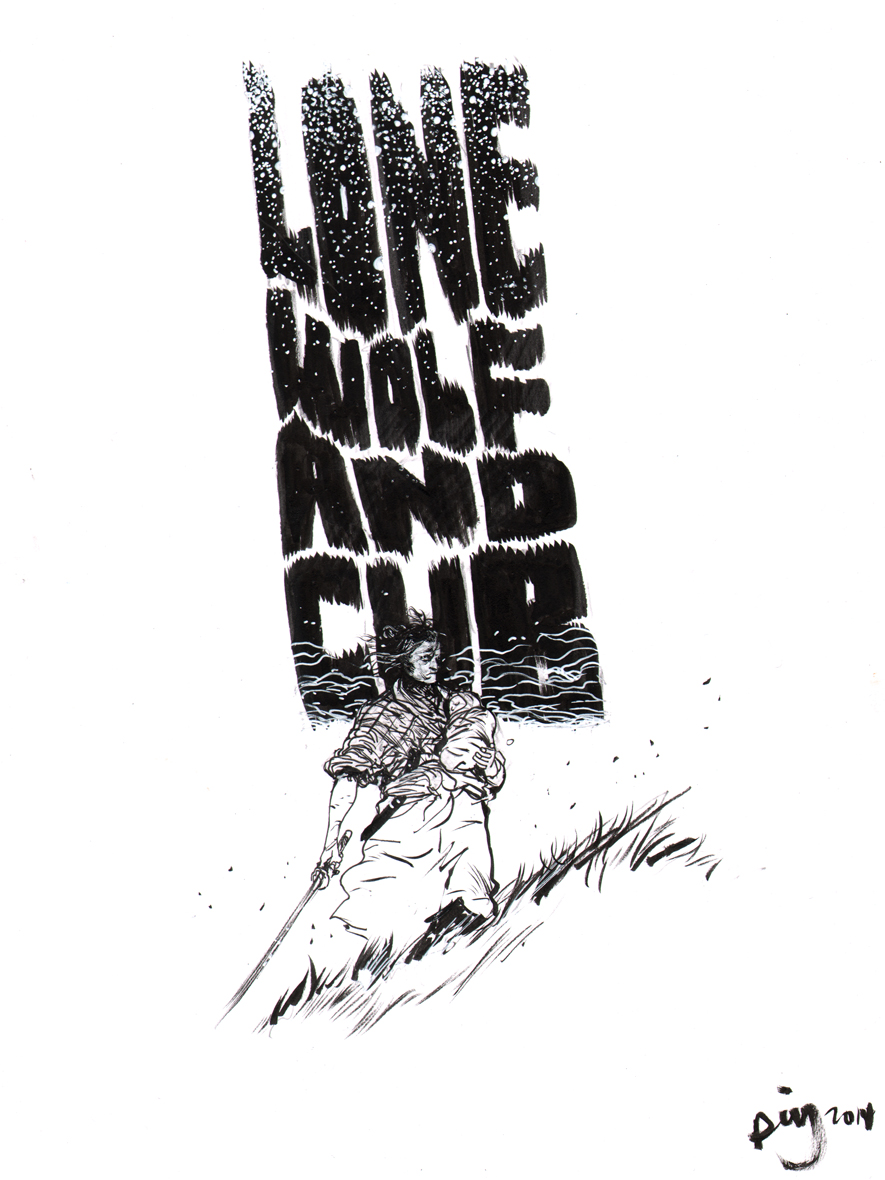Lone Wolf and Cub by Daniel Warren Johnson