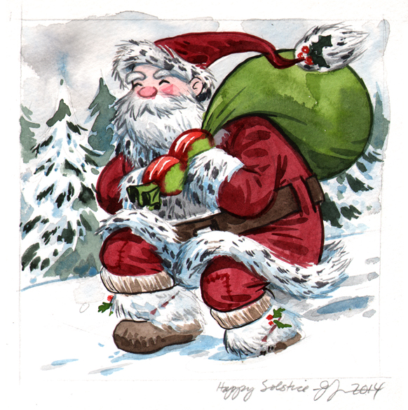 Santa by Jill Thompson