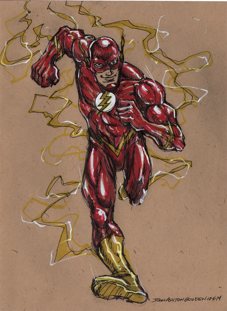 The Flash by John Ashton Golden