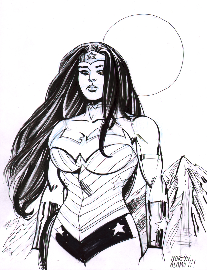 Wonder Woman by Mike Norton