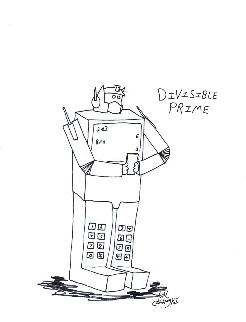 Transformer Cartoon by Paul Czarnowski