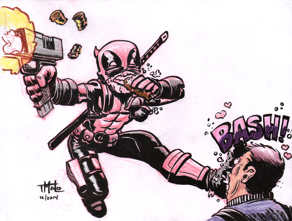Deadpool by Tony Maldanado