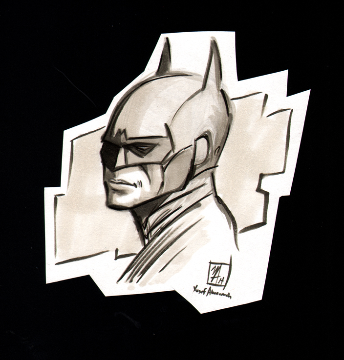 Batman by Yusef Abonamah