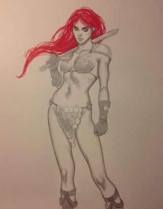 Red Sonja by Jenny Frison