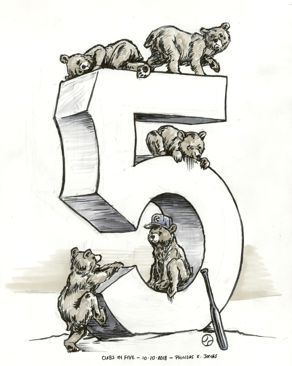 10 Cubs in Five