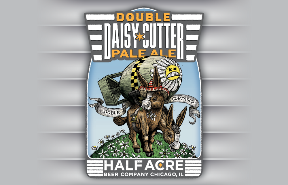 Double Daisy Cutter 2012 Bomber Label