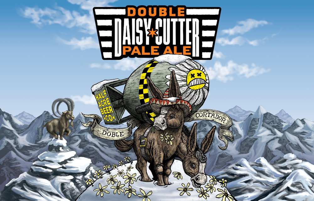 Double Daisy Cutter 2015 Bomber Label
