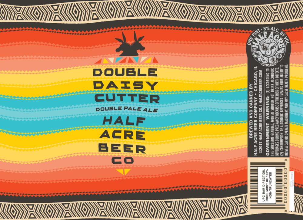 Double Daisy Cutter 2016 Can Flat