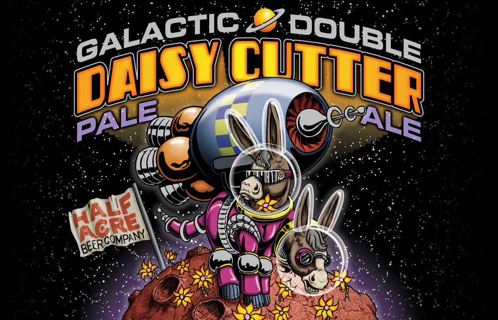 Galactic Double Daisy Cutter 2011 Bomber Label