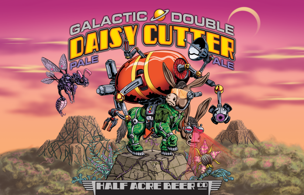 Galactic Double Daisy Cutter 2015 Bomber Label